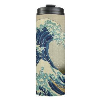 The Great Wave off Kanagawa: Woodblock Print Thermal Tumbler