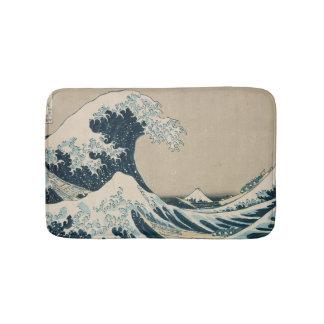 The Great Wave off Kanagawa Bath Mats