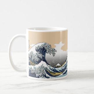The Great Wave Off Katagawa Coffee Mug