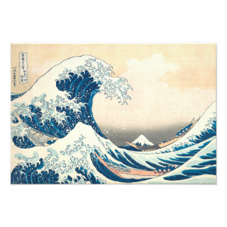 The Great Wave Off of Kanagawa Photographic Print