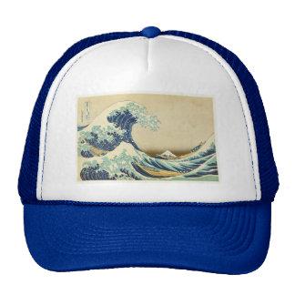 The Great Wave Off Shore of Kanagawa Cap