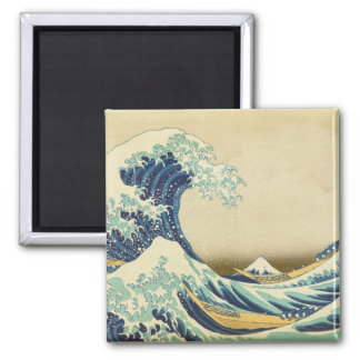 The Great Wave Off Shore of Kanagawa Refrigerator Magnets