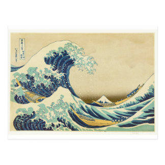 The Great Wave Off Shore of Kanagawa Postcard