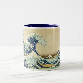 The Great Wave Off Shore of Kanagawa Two-Tone Mug