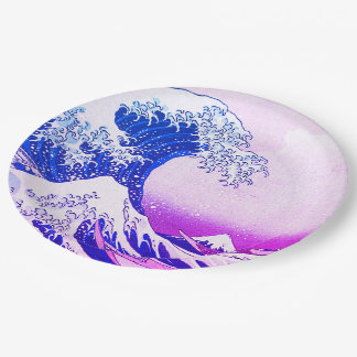 The Great Wave Paper Plate