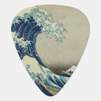 The Great Wave Plectrum