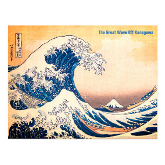 The Great Wave Postcard