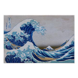 The Great Wave! Poster