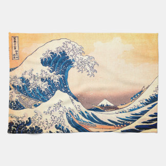 The Great Wave Tea Towel
