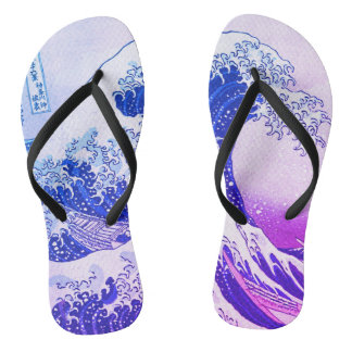 The Great Wave Thongs