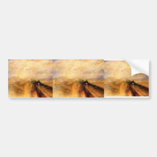 The Great Western Railway by William Turner Bumper Stickers