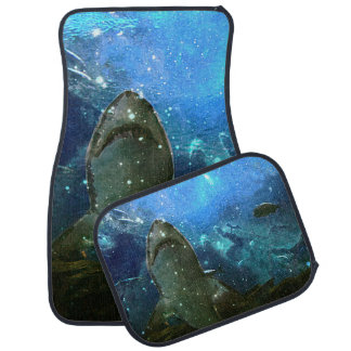 The Great White Marine Lava Lamp Car Mat