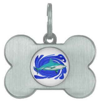 The Great White Pet ID Tag