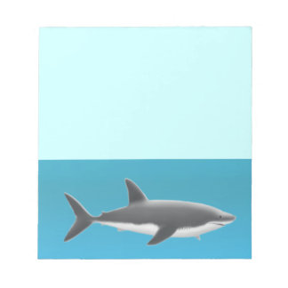The Great White Shark Notepad