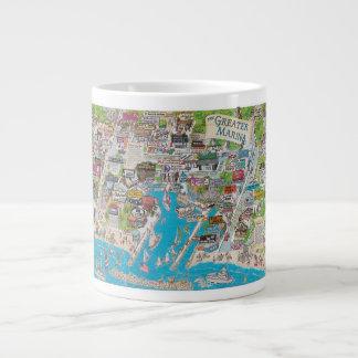The Greater Marina Large Coffee Mug