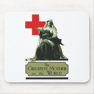 The Greatest Mother In The World Mouse Pad
