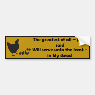 The Greatest of All - Bumper Sticker