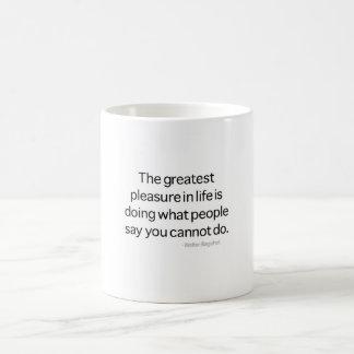 The Greatest Pleasure Coffee Mug