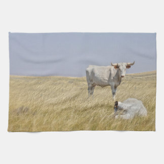 The Greatest Protector Cattle Kitchen Towel
