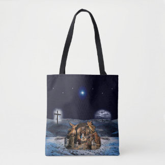 The Greatest Story Ever Custom All-Over-Print Tote