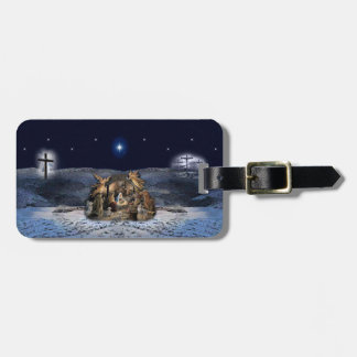 The Greatest Story Ever Told Christmas Luggage Tag