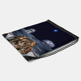 The Greatest Story Ever Told Drawstring Bag
