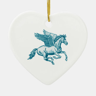 The Greek Myth Ceramic Heart Decoration