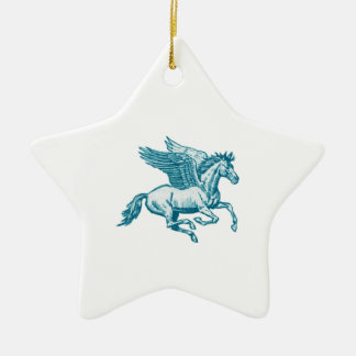 The Greek Myth Ceramic Star Decoration