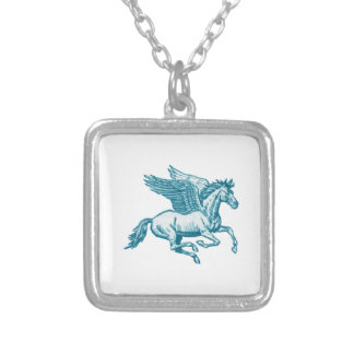 The Greek Myth Silver Plated Necklace