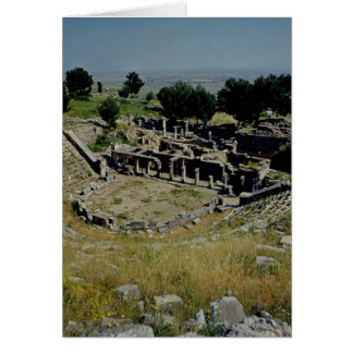 The Greek theatre Card