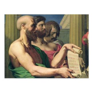 The Greek Tragedians Postcard