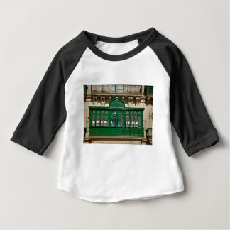 The green balcony baby T-Shirt