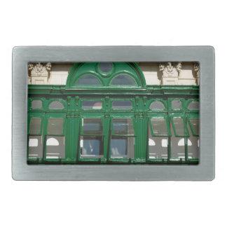 The green balcony rectangular belt buckle