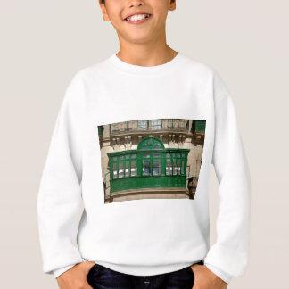 The green balcony sweatshirt
