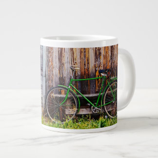 The Green Bicycle 1 Mug Jumbo Mug