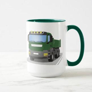 the Green building sites truck Mug