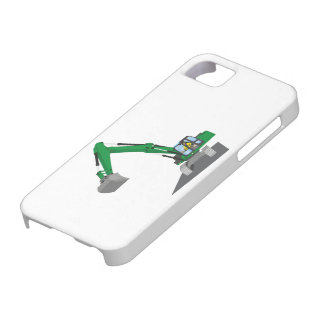 the Green chain excavator Barely There iPhone 5 Case
