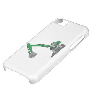 the Green chain excavator iPhone 5C Case