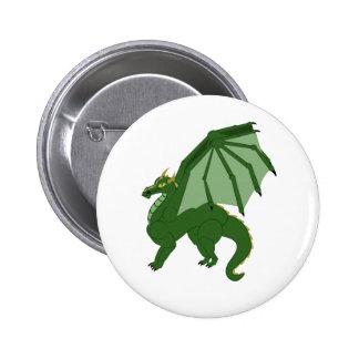 The Green Dragon Button