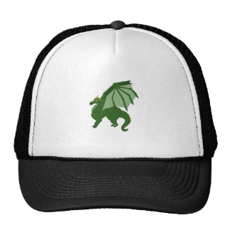 The Green Dragon Mesh Hat