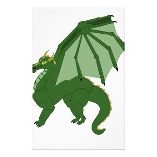 The Green Dragon Custom Stationery