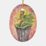 The Green Faerie Ornament