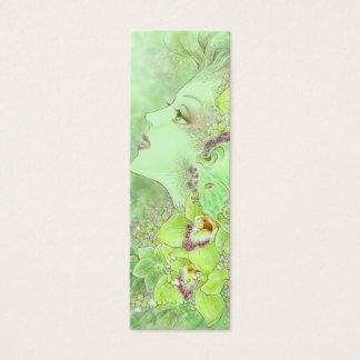 The Green Faery Bookmark Mini Business Card