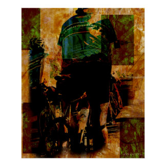The Green Jersey I Poster
