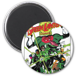 The Green Lantern Corps 6 Cm Round Magnet