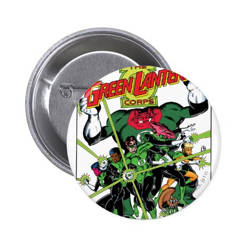 The Green Lantern Corps Pinback Buttons