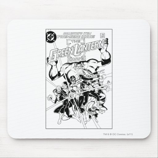 The Green Lantern Corps, Black and White Mouse Pads