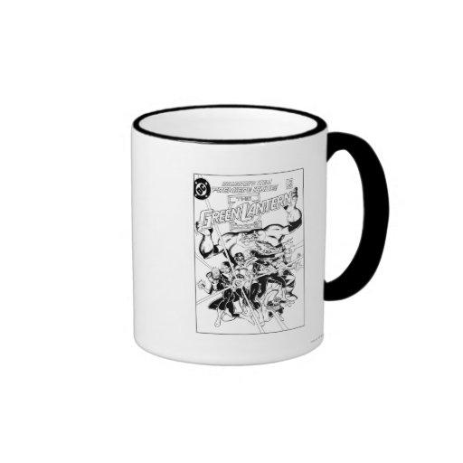 The Green Lantern Corps, Black and White Mug