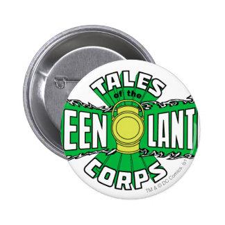 The Green Lantern Corps - Green Logo 6 Cm Round Badge