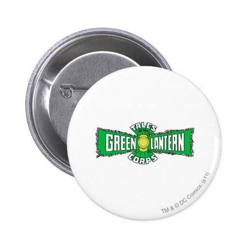 The Green Lantern Corps - Green Logo Pins
